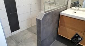 Création d'une salle de bain complète